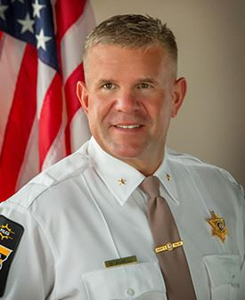 Headshot of sheriff Asbell